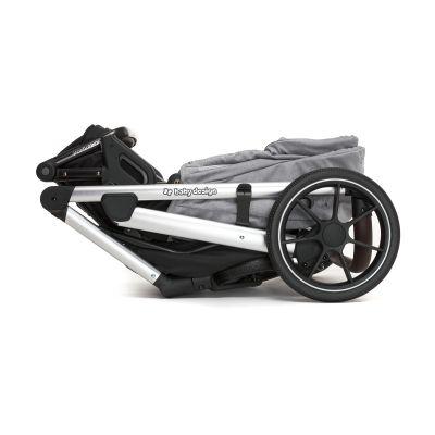 Прогулочный блок Baby Design Bueno складывается с рамой коляски