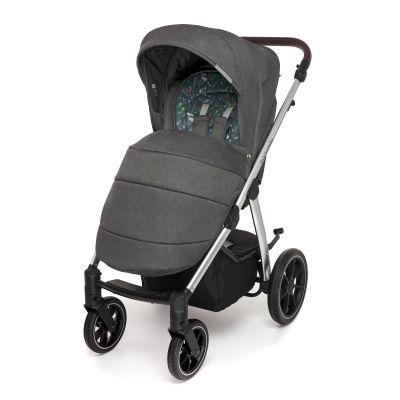 Прогулочный блок Baby Design Bueno 117 graphite meadow  с чехлом на ноги