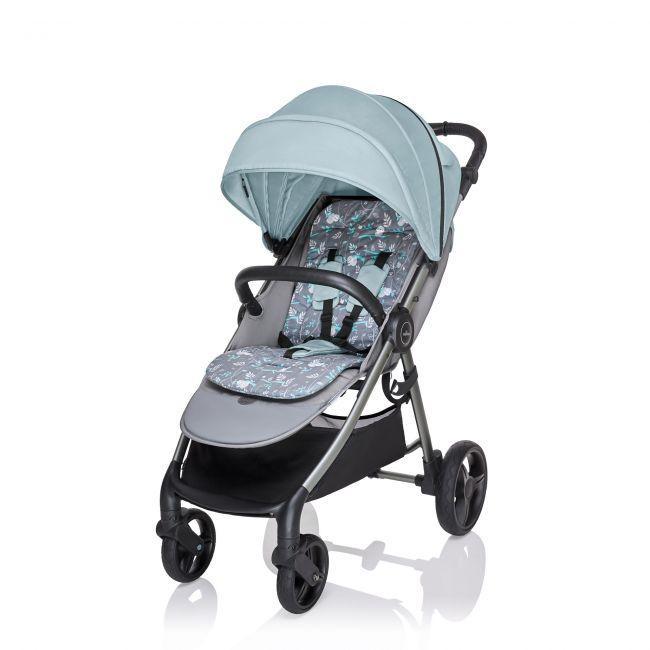 прогулочная коляска Baby Design Wave 05 бирюзовая