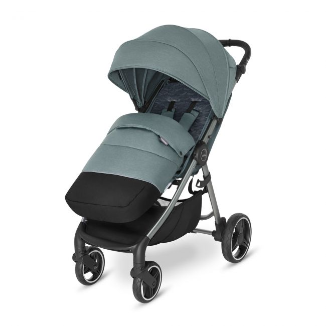 прогулочная коляска Baby Design Wave 2021 С чехлом на ножки